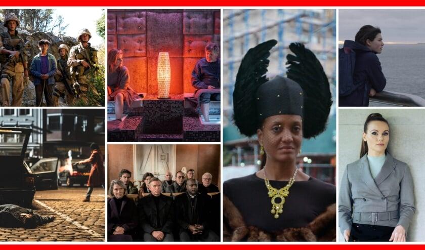 <p>• Afbeeldingen van de zeven films van de NFF Festivalpremières in Landvast.</p>