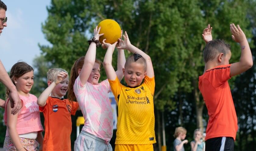 <p>Korfbalvereniging KCC/CK Kozijnen doet mee aan Nationale Sportweek.</p>