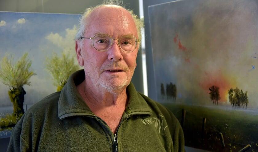 <p>Landschapsschilder Maas van Vliet.&nbsp;</p>
