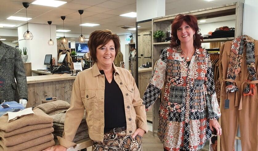 <p>• Hilda Speksnijder (l) en Monique van Oosterom.</p>