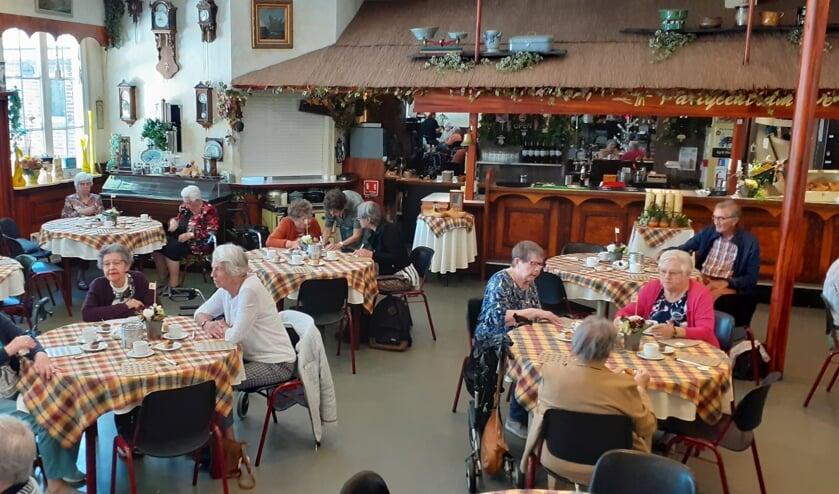 Bingo middag bij de klok van de zonnebloem Alblasserdam