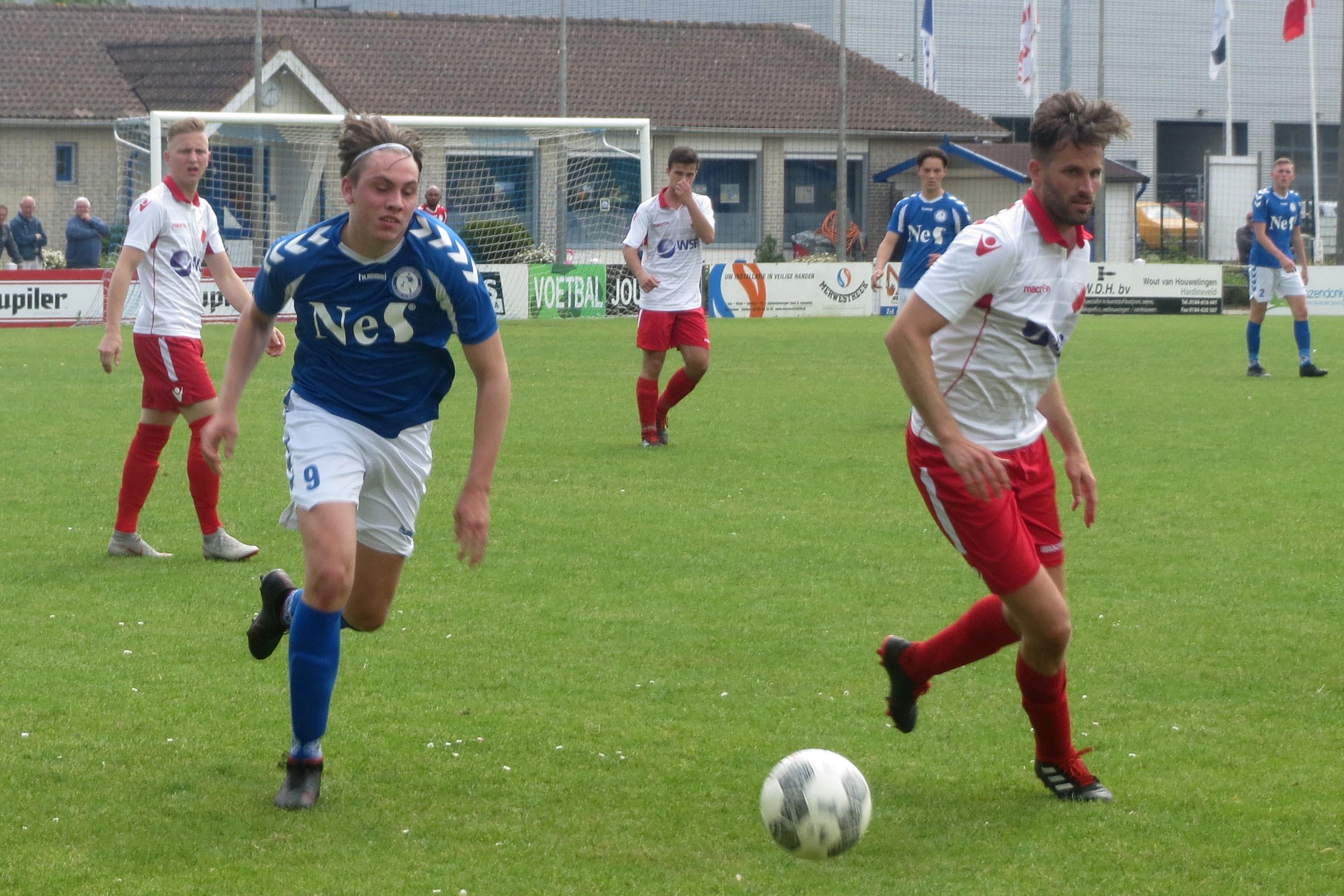 Hardinxveld sluit competitie af met verlies bij Schelluinen