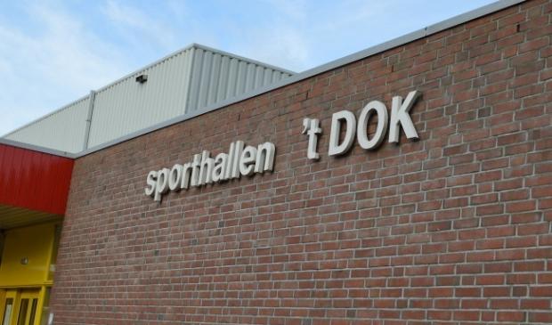 <p>Sporthallen &#39;t Dok.</p>
