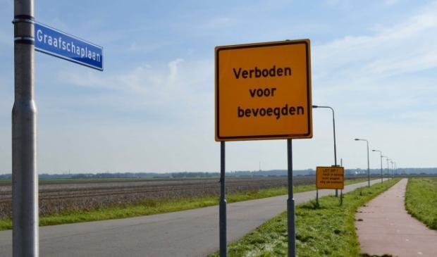 Nieuwbouwwijk De Graafschap in Biddinghuizen.
