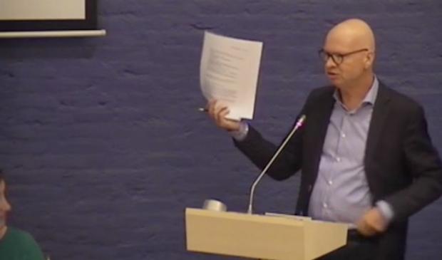 <p>Hans van Veen (VvE Ketelhaven).</p>