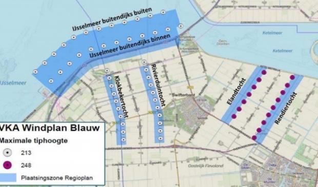 Windplan Blauw