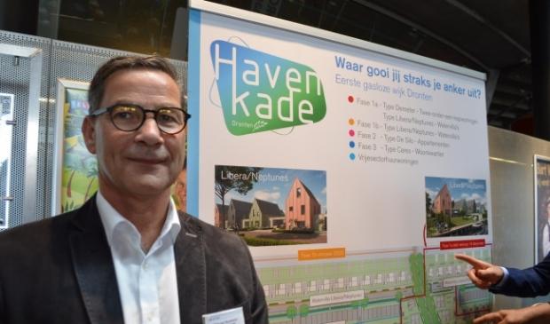 Piet van Slochteren op de woonbeurs.  ©maartenheijenk.nl  © BrugMedia