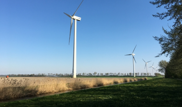 Windmolens bij Swifterbant.