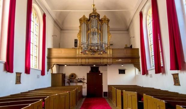 <p>Interieur Sint-Annakapel</p>
