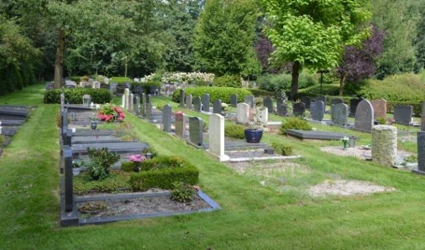 <p>Minder onderhoud op de begraafplaats?</p>