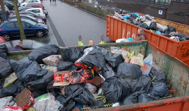 <p>Vuurwerk-afval campagne is het meest bekend bij Zeewoldenaren</p>