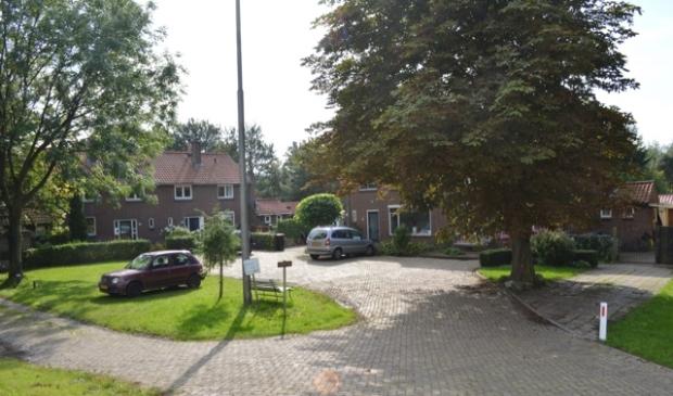 Het buurtschap Roggebot aan de Vossemeerdijk.