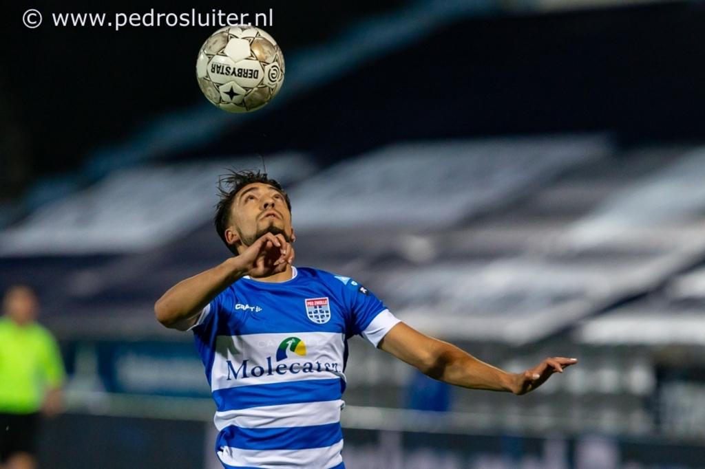 Yuta Nakayama tijdens PEC Zwolle - Willem II. Pedro Sluiter © brugmedia