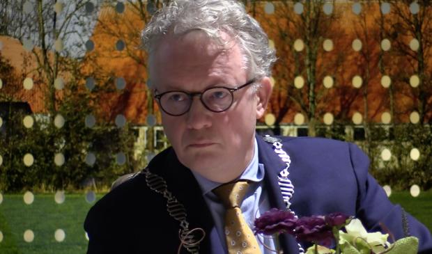 <p>Burgemeester Jean Paul Gebben van de gemeente Dronten</p>