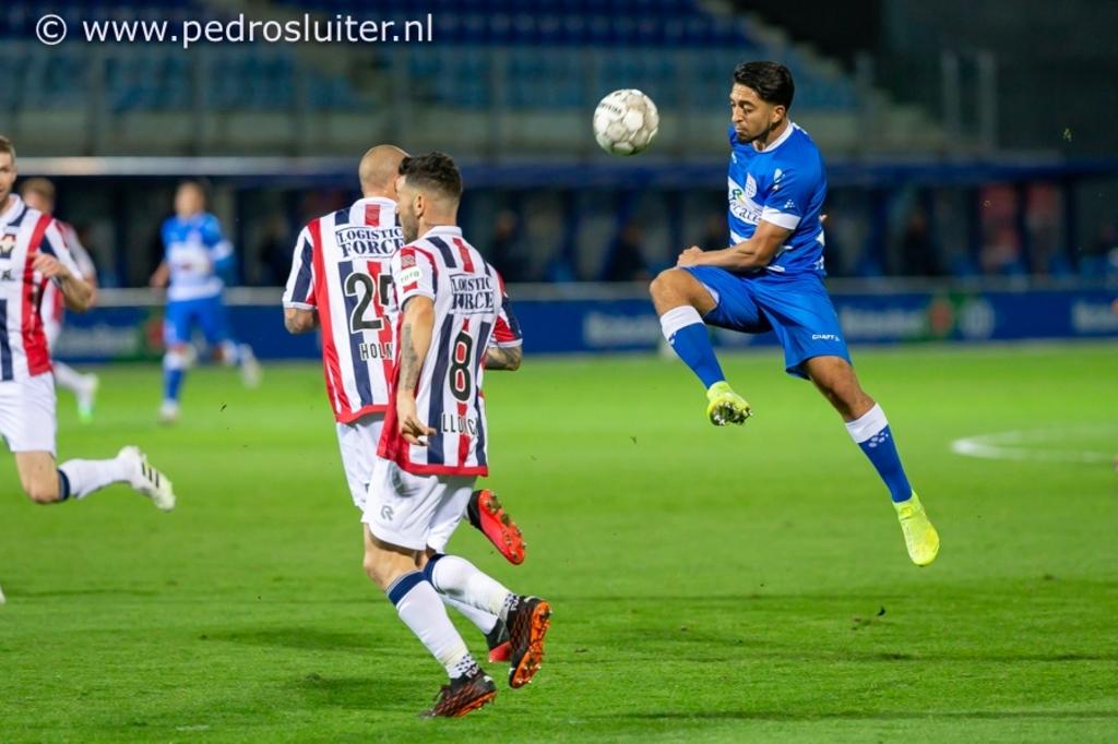 PEC Zwolle - Willem II. Pedro Sluiter © brugmedia
