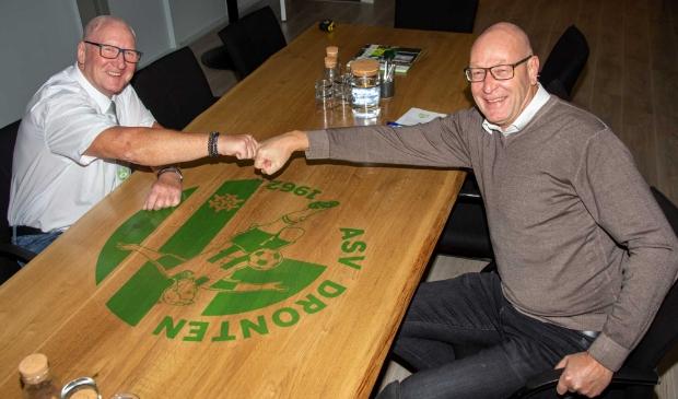 Rayn Schlossarek en Jan Bollemaat.