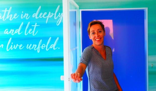 <p>Marjan van der Reest in de floatroom van haar bedrijf Centre Estetica. &ldquo;Veel mensen hebben een magnesiumtekort.&rdquo;<br><br></p>