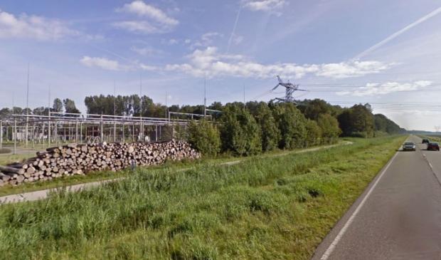<p>Het onderstation aan de Dronterweg.</p>
