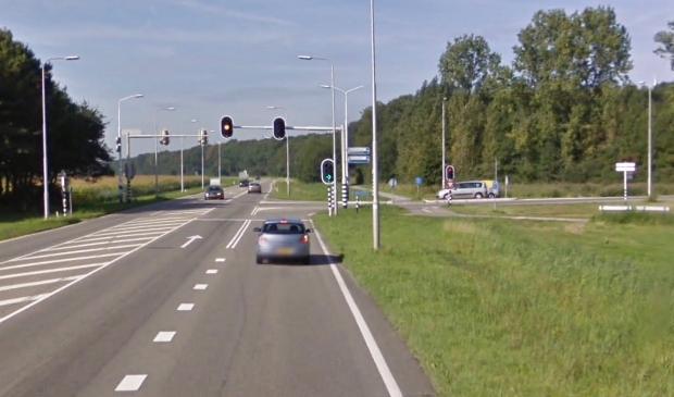 Er komt een rotonde op de kruising Dronterweg - Swifterringweg.