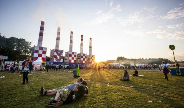 <p>Het festivalterrein tijdens Lowlands.</p>