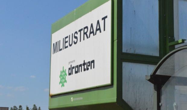 <p>Milieustraat gemeente Dronten.</p>