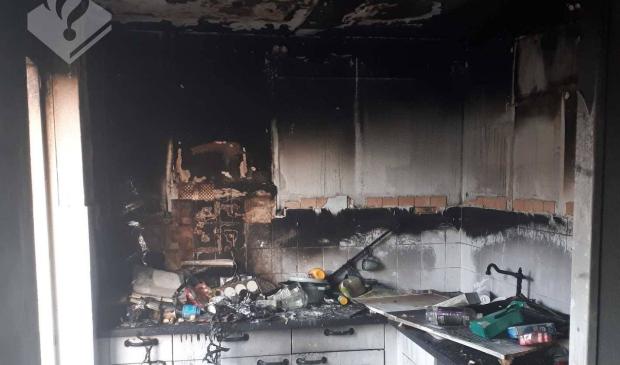 Keukenbrand in Swifterbant