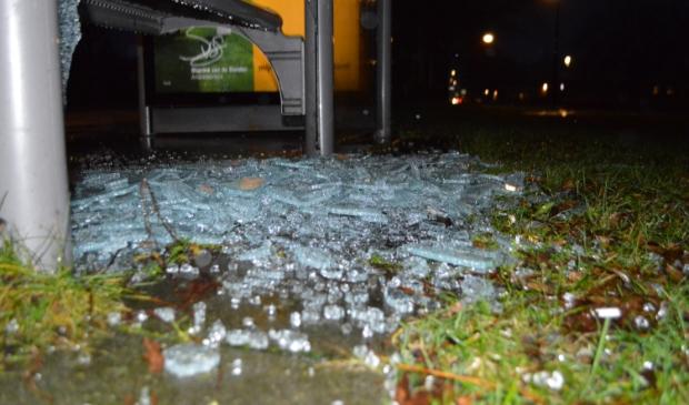 Vandalisme in Swifterbant.