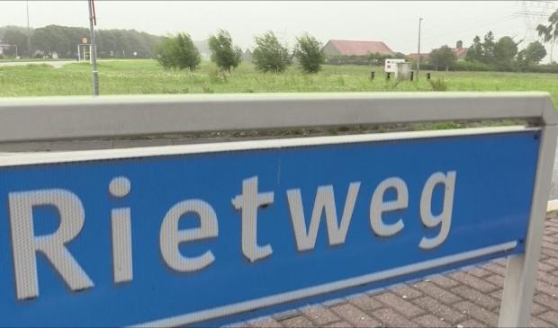 De locatie GroenRijk aan de Rietweg.