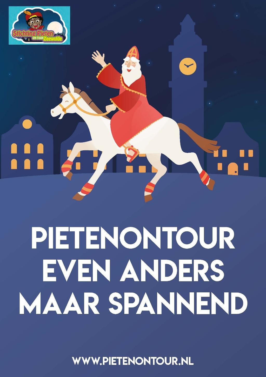 Poster Pieten on Tour