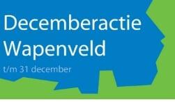 Decemberactie Ondernemersvereniging Wapenveld