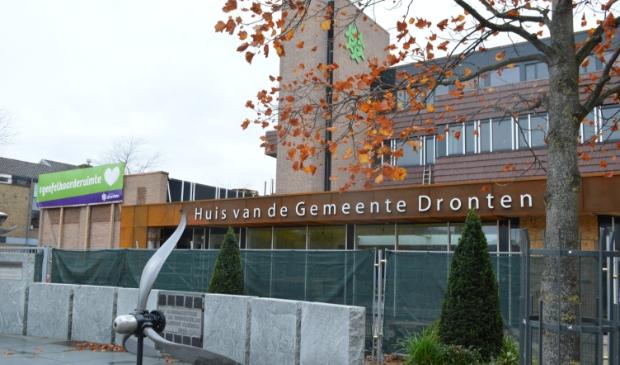 Het nieuwe gemeentehuis in Dronten.