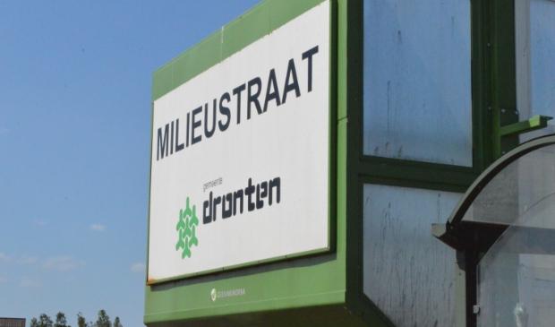 Milieustraat gemeente Dronten.