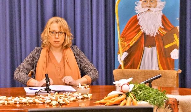 Anna Rijpsma, de Dieuwertje Blok van het Zeewolde Sinterklaas Journaal