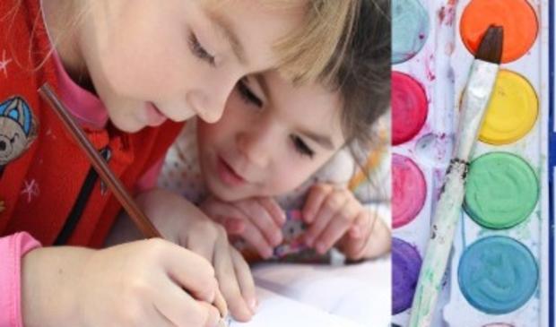 <p>Leer schilderen tijdens Vrijdag Blijdag</p>