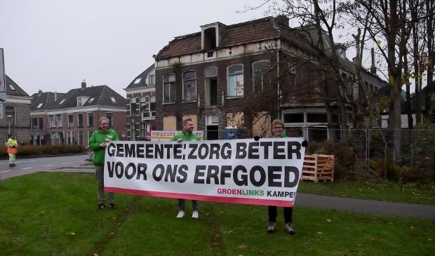 """GroenLinks: """"GEMEENTE zorg beter voor ons erfgoed"""