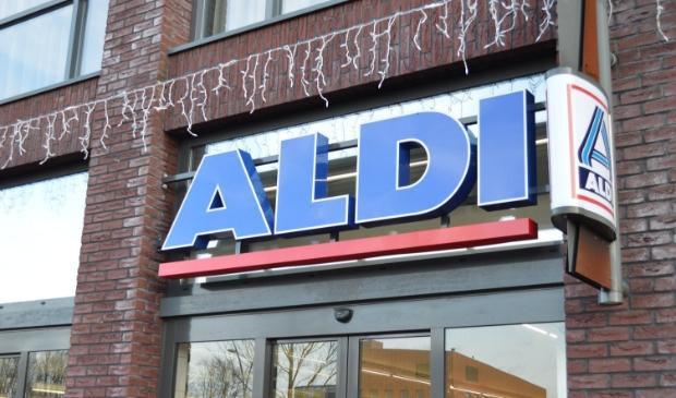 De Aldi in winkelcentrum Suydersee.