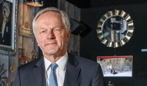 Burgemeester Henk Jan Meijer van Zwolle.  Foto: Pedro Sluiter Foto 2017