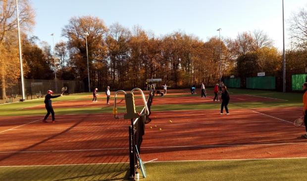 OldStars tennis bij ZTC De Pelikaan