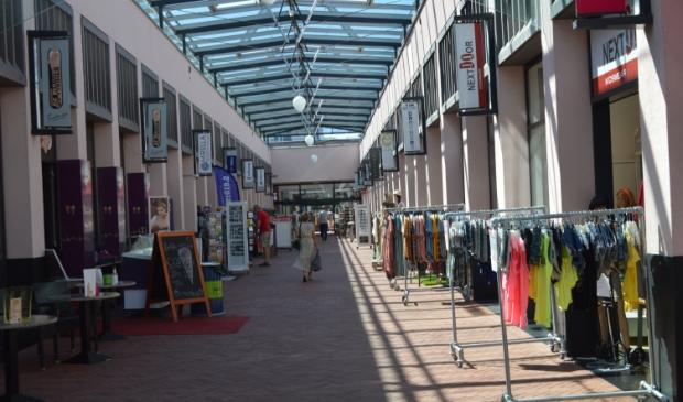 Winkelcentrum Suydersee in Dronten.