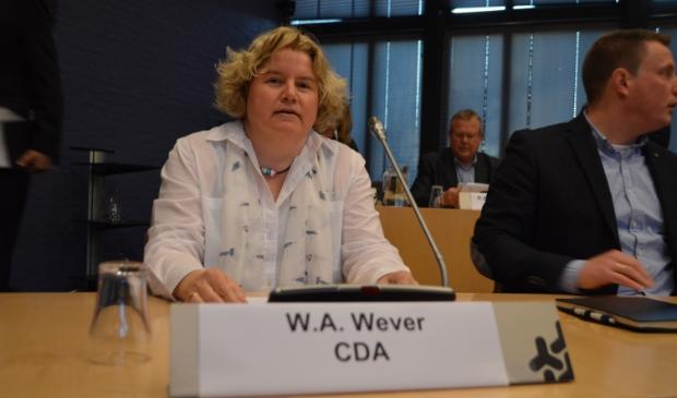 <p>Willemien Wever, CDA</p>