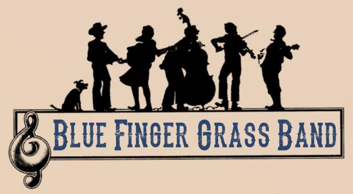Logo Bluefinger Grassband