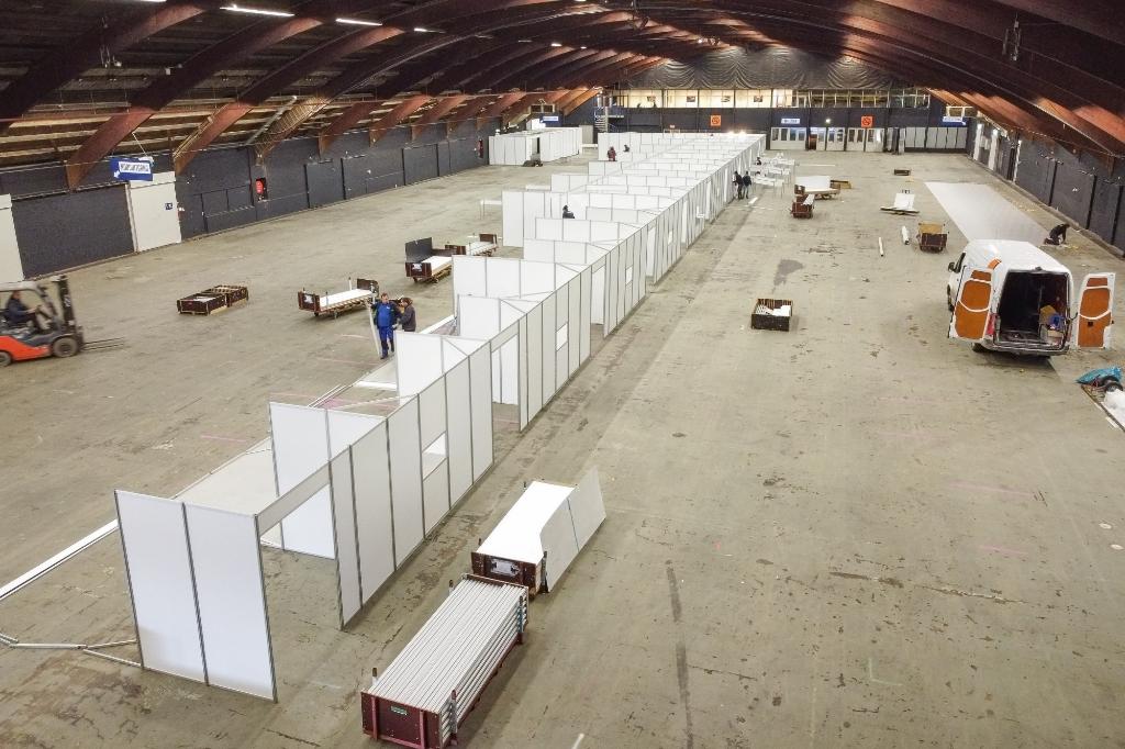<p>Foto: In november is in de IJsselhallen een grote testlocatie opgezet.</p>
