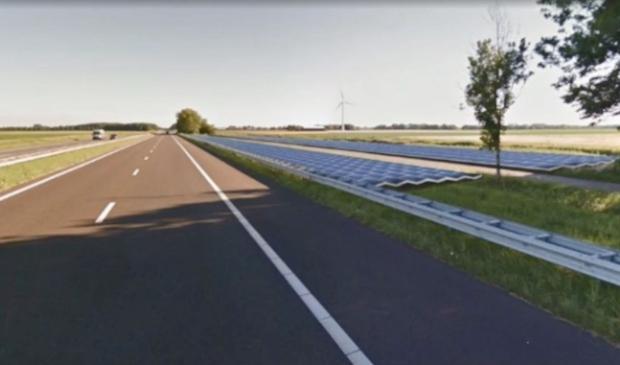 <p>Mogelijkheid voor zonnepanelen bij de A6.</p>