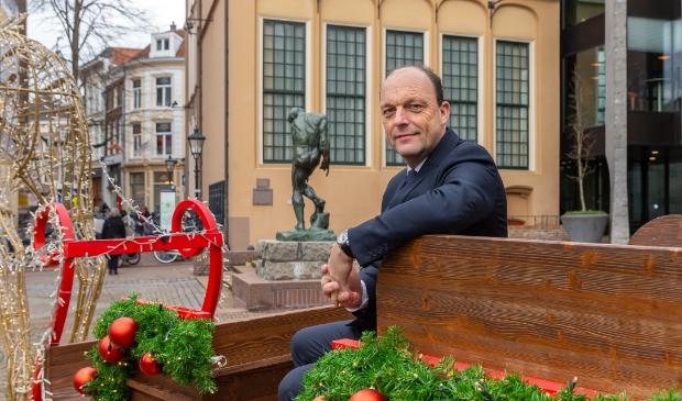 <p>Burgemeester Peter Snijders van Zwolle.</p>