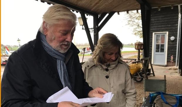 Henk de Koning en Emmy van der Hoeven.
