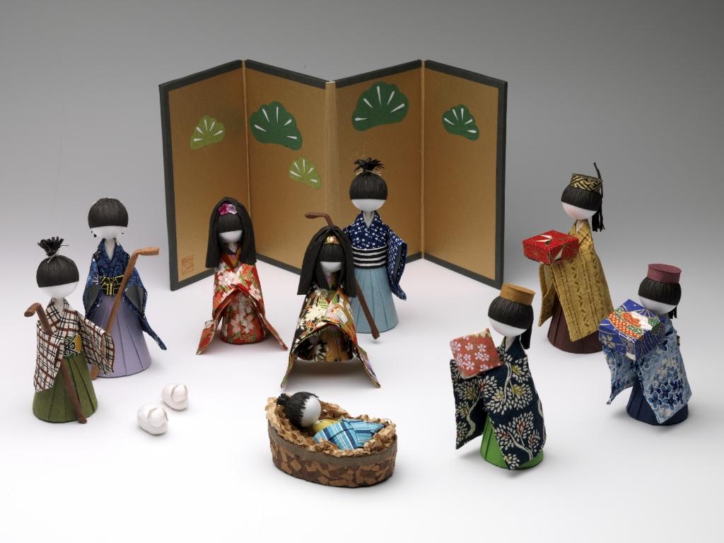 Kerstgroep Japan Jan van Hulst