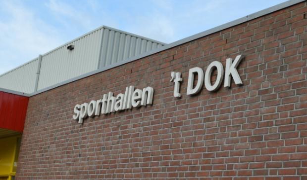 <p>Sporthallen 't Dok.</p>