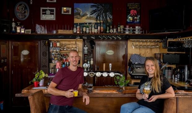 Jimmy Croymans en Marjan van Dijk van Café 't Ponton