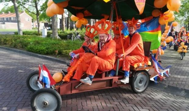 <p>Koningsdag in Biddinghuizen</p>