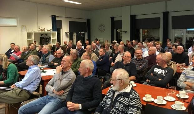<p>Vergadering Dorpsbelangen Biddinghuizen.</p>